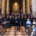 2015 - The Academic Choir of the Jagiellonian University Jagiellonian Camerata during the performance in the Basilica of Our Lady of Grace in Udine , directed by Janusz Wierzgacz .